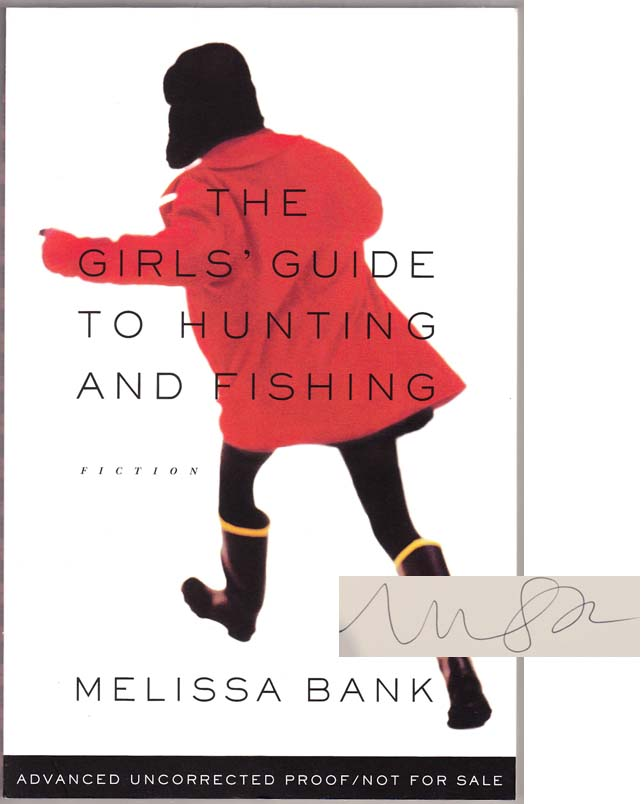 The girls 39 guide to hunting and fishing signed arc for The girls guide to hunting and fishing