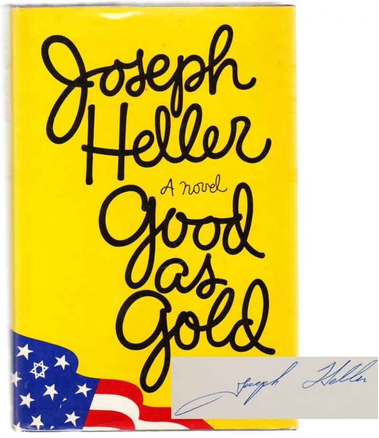 Good as Gold (Signed First Edition). Joseph HELLER.