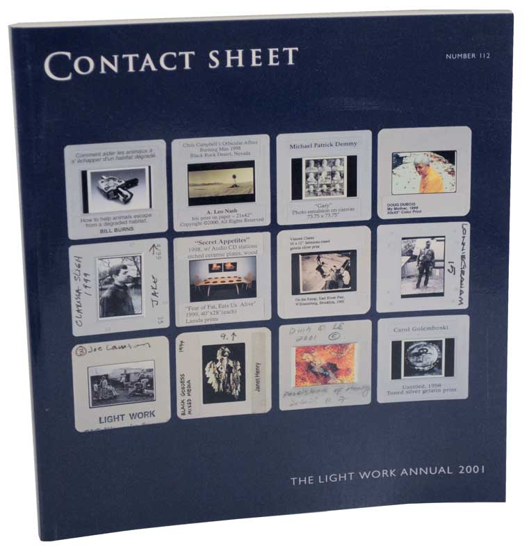 Contact Sheet 112: The Light Work Annual 2001