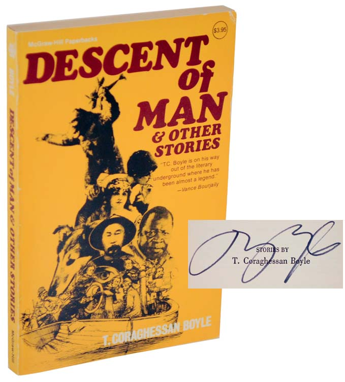 Descent of Man & tother Stories (Signed First Edition). T. C. BOYLE.