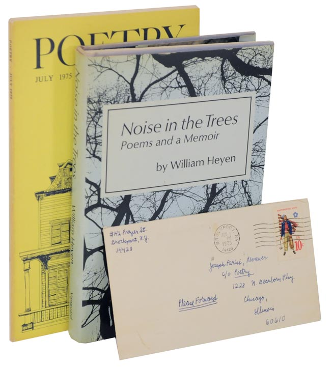 Noise in The Trees: Poems and a Memoir (Review Copy) with a Signed Letter. William HEYEN.