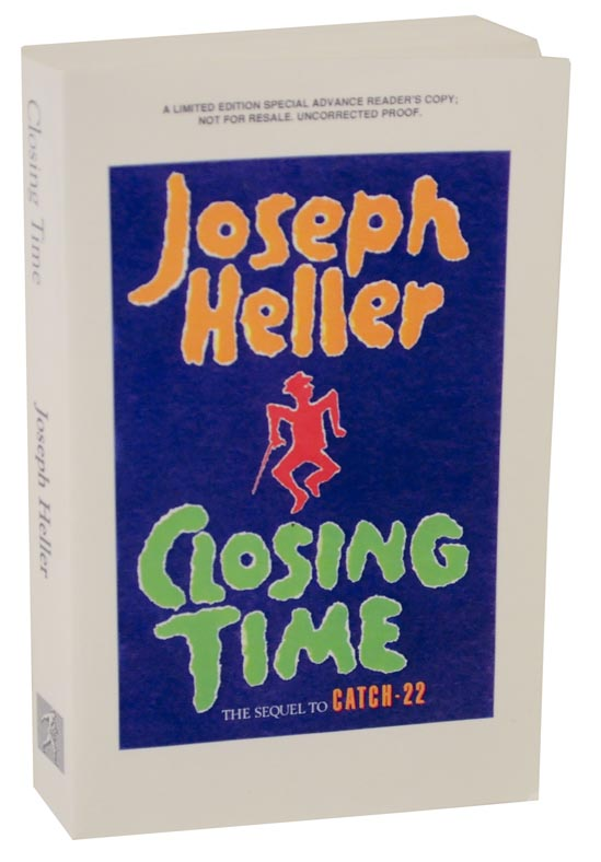 Closing Time (Uncorrected Proof). Joseph HELLER.