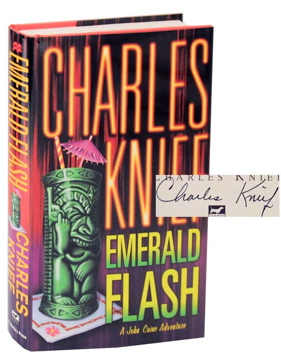 Emerald Flash (Signed First Edition). Charles KNIEF.