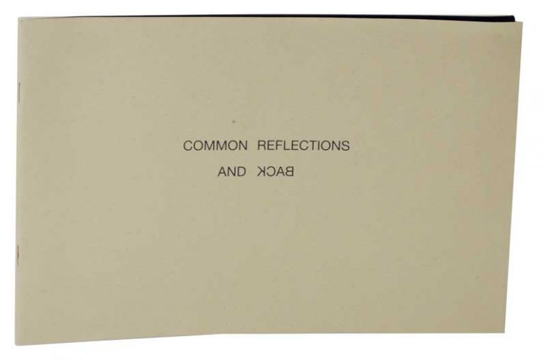 Common Reflections and Back: An Exploration of the Esthetic Experience of Suburbia. P. GABRIEL, T. Gabriel, R. Yavari.