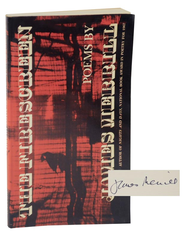 The Fire Screen (Signed First Edition). James MERRILL.