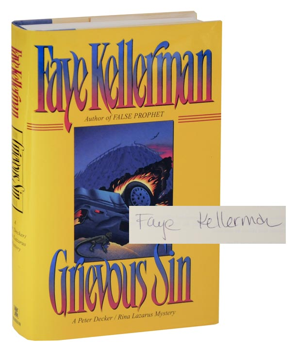 Grievous Sin (Signed First Edition). Faye KELLERMAN.