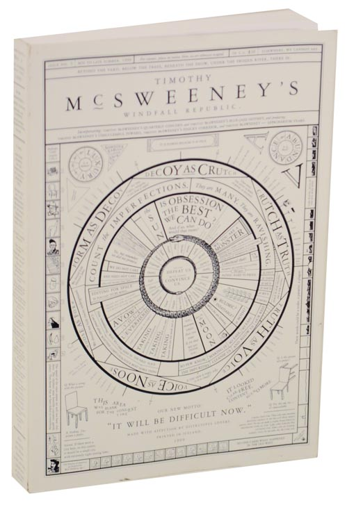 McSweeney's No. 3: Windfall Republic. Dave EGGERS, David Foster Wallace Rick Moody.