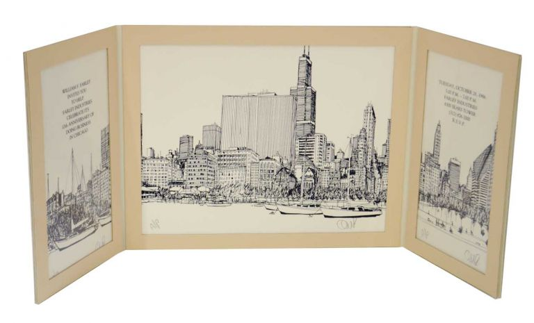 Chicago Panorama for the Farley Corporate Collection. Bill OLDENDORF.