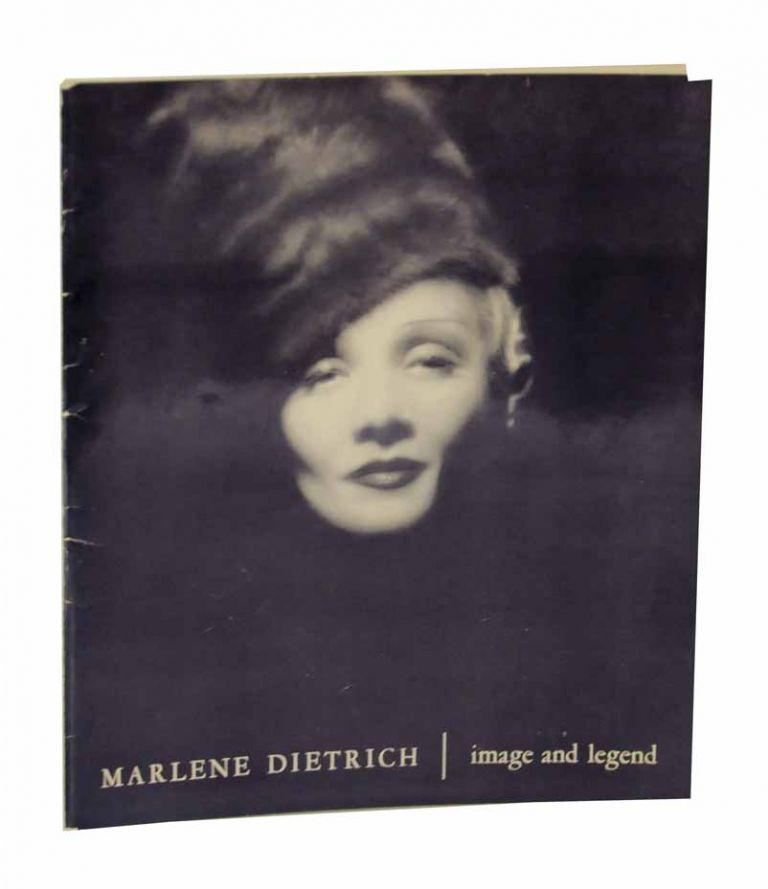 Marlene Dietrich: Image and Legend. Richard GRIFFITH.