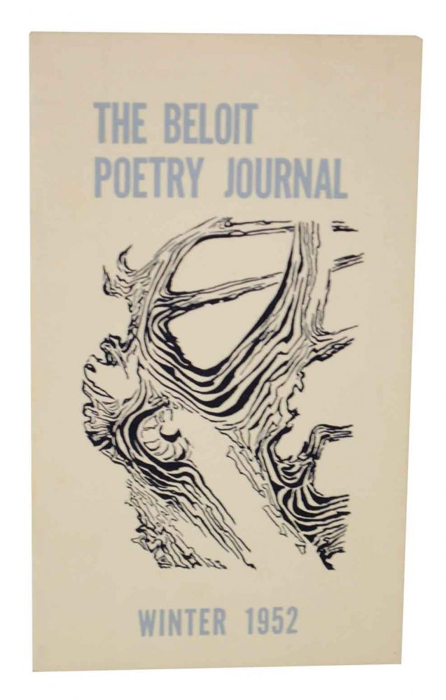 The Beloit Poetry Journal Volume 3 - Number 2 Winter 1952. Paul CARROLL, Galway Kinnell.