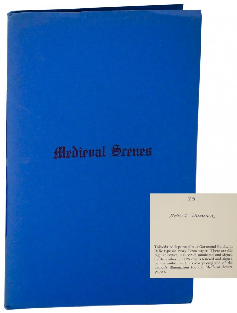 Medieval Scenes 1950 and 1959 (Signed Limited Edition). Robert DUNCAN.