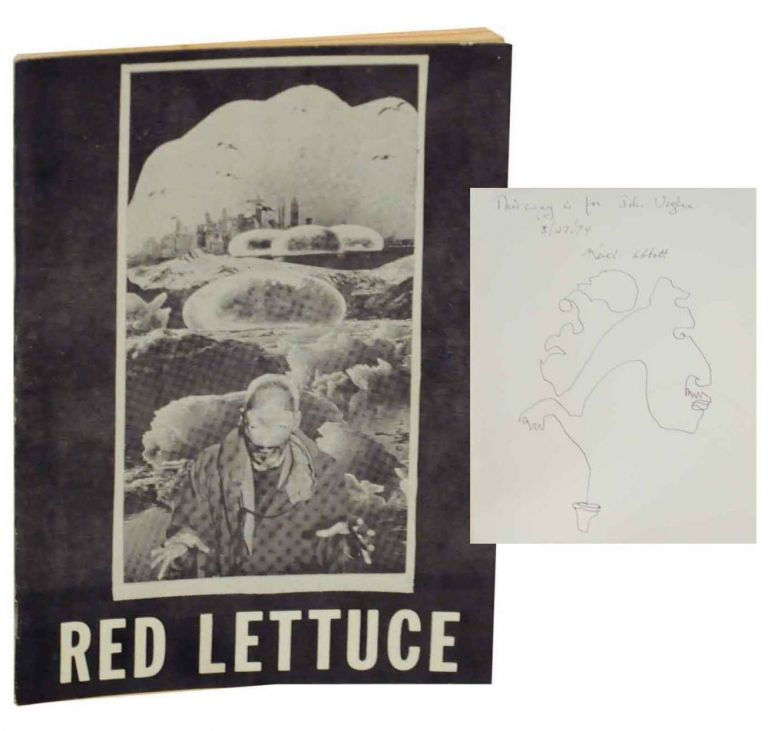 Red Lettuce (Signed Association Copy). Keith ABBOTT.