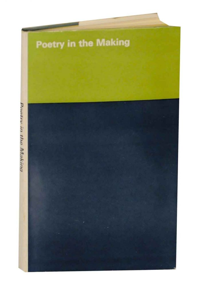 Poetry in the Making: Catalogue of an Exhibition of Poetry Manuscripts in The British Museum April - June 1967. Jenny LEWIS, Philip Larkin, T. C. Skeat, C. Day Lewis.