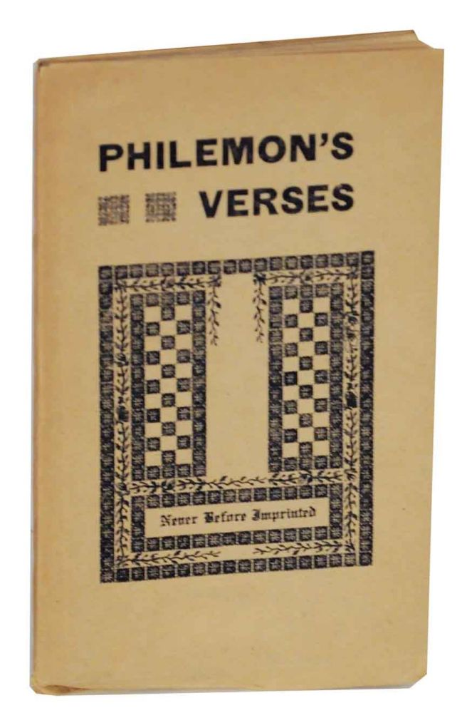Philemon's Verses