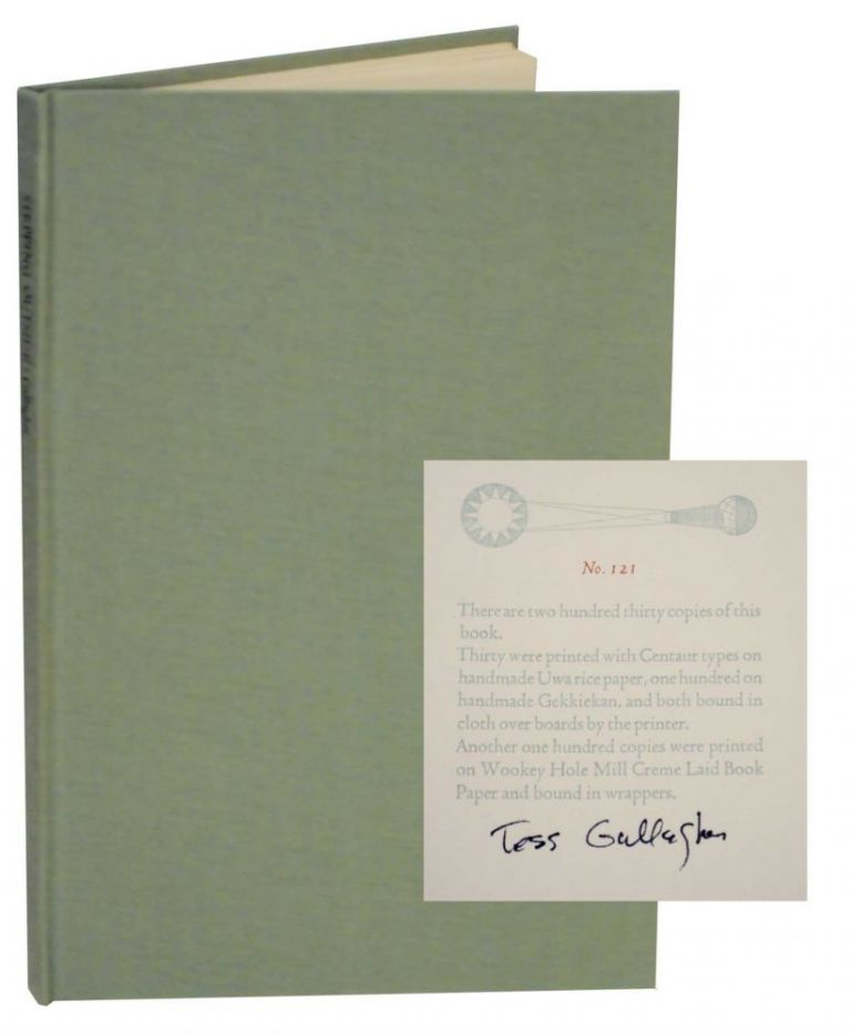 Stepping Outside (Signed Limited Edition). Tess GALLAGHER.