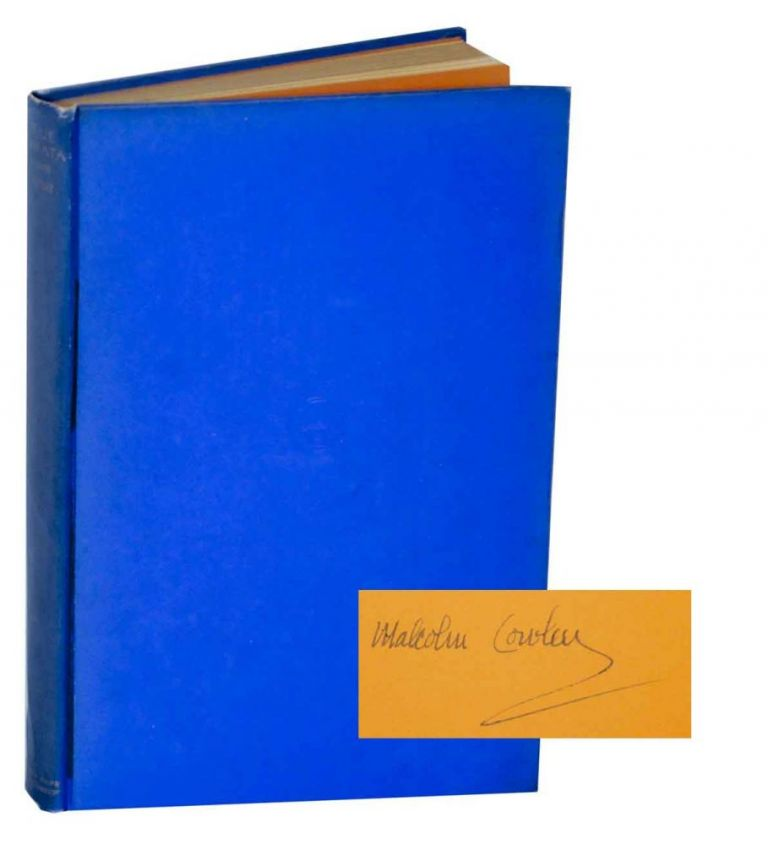 Blue Juniata (Signed First Edition). Malcolm COWLEY.