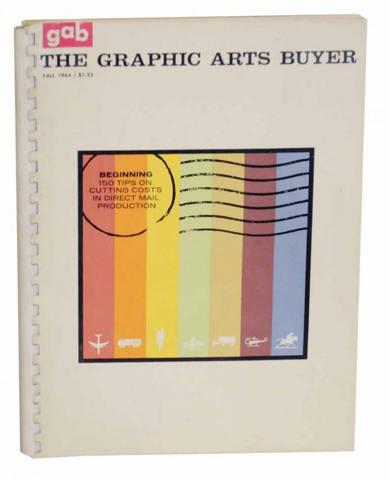 The Graphic Arts Buyer Fall 1964. Richard MILFORD, and Publisher.