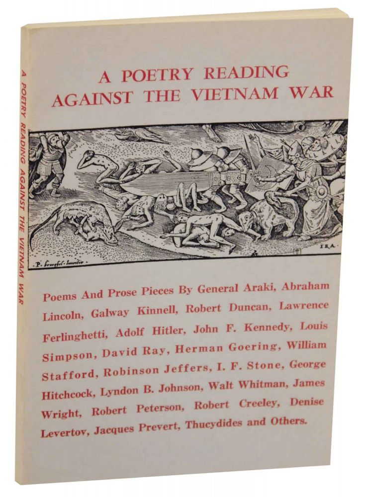 A Poetry Reading Against the Vietnam War. Robert BLY, David Ray, collectors.