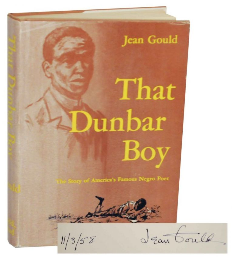 That Dunbar Boy (Signed First Edition). Jean GOULD.