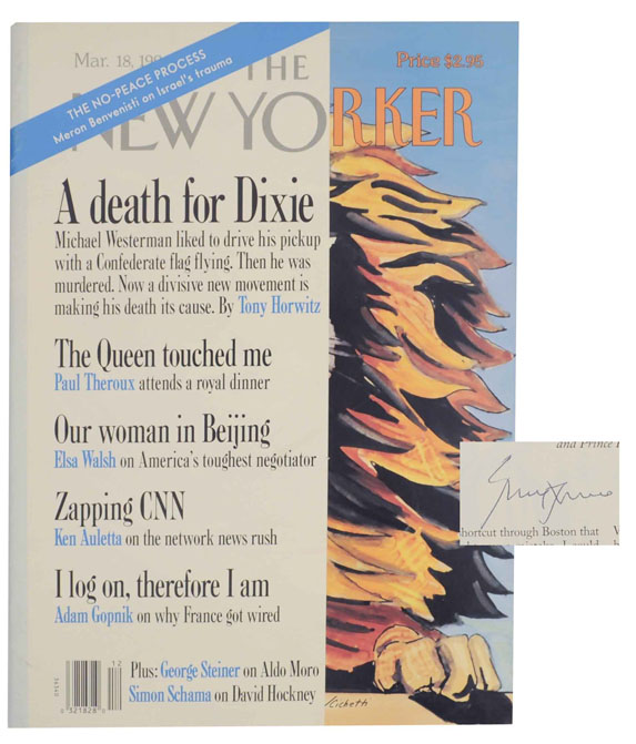 The Queen's Touch in The New Yorker May 18, 1996 (Signed). Paul THEROUX.