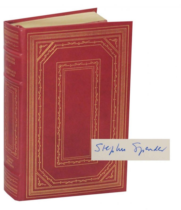 Journals 1939-1983 (Signed Limited Edition). Stephen SPENDER.