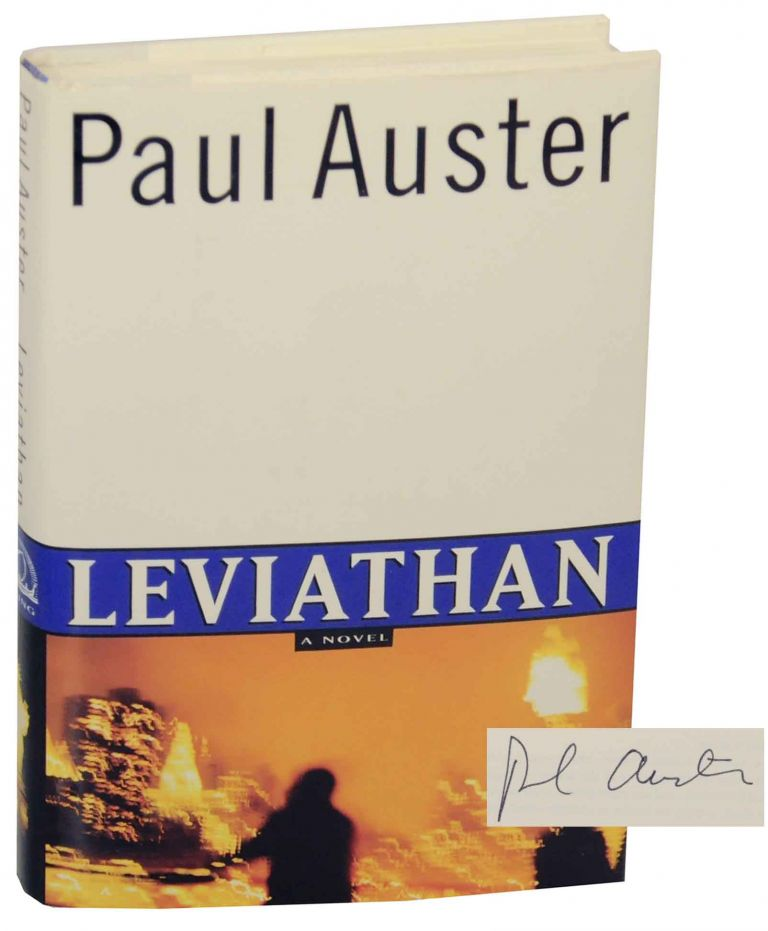 Leviathan (Signed First Edition). Paul AUSTER.