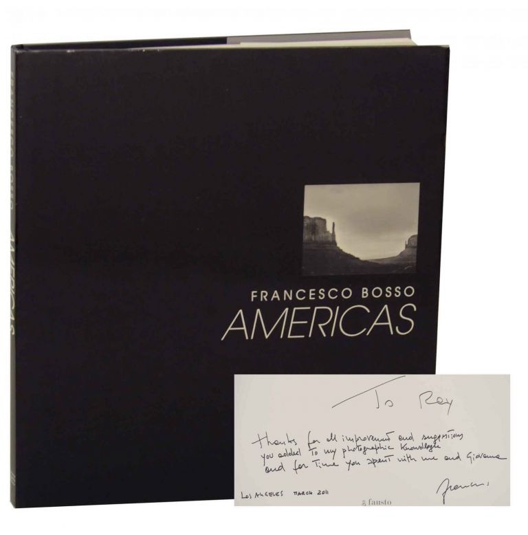 Americas (Signed First Edition). Francesco BOSSO.