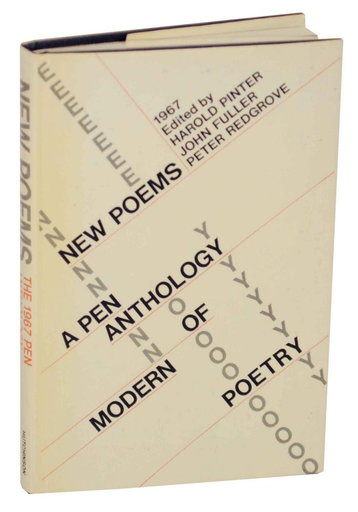 New Poems 1967 A P.E.N. Anthology of Contemporary poetry. Harold PINTER, John Fuller, Peter Redgrove, Peter Scupham D M. Thomas.