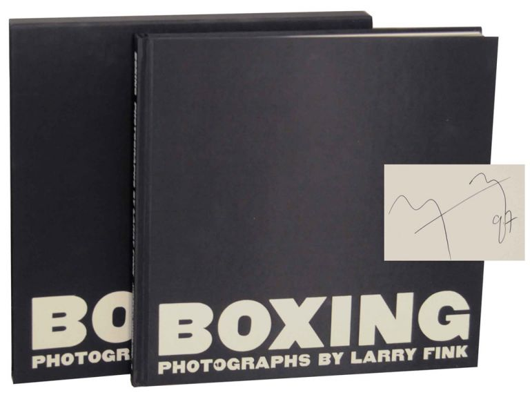 Boxing (Signed Limited Edition). Larry FINK.
