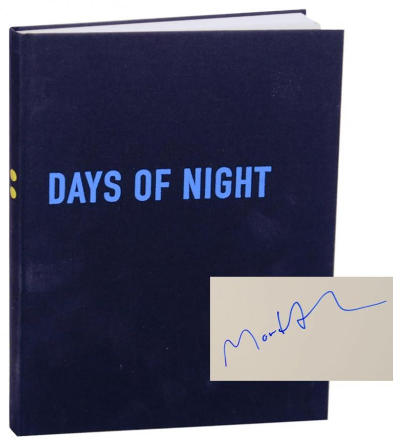 Days of Night (Signed First Edition). Morten ANDERSEN.