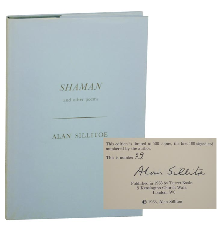 Shaman and Other Poems (Signed Limited Edition). Alan SILLITOE.
