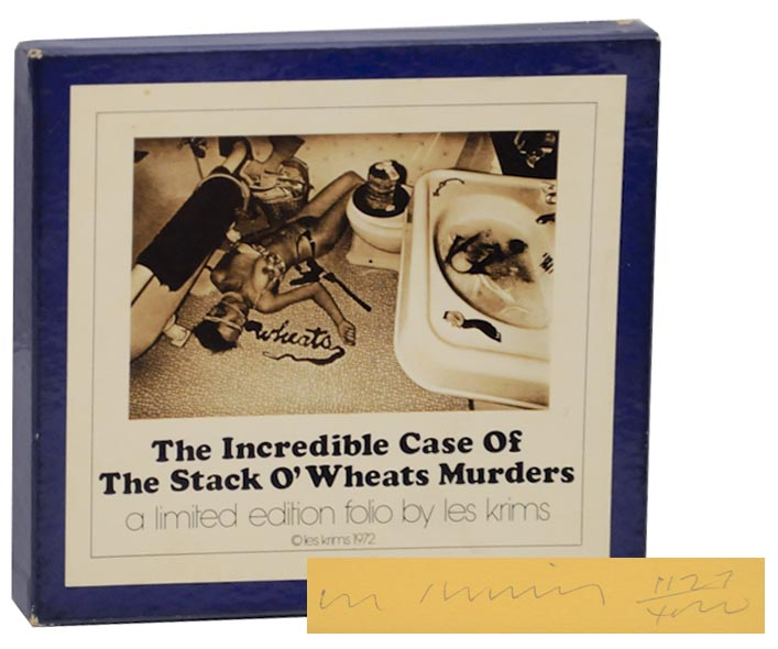 The Incredible Case of the Stack O'Wheats Murders (Signed First Edition). Les KRIMS.