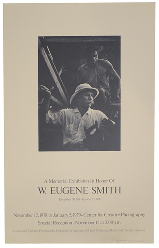 A Memorial Exhibition in Honor of W. Eugene Smith. W. Eugene SMITH.