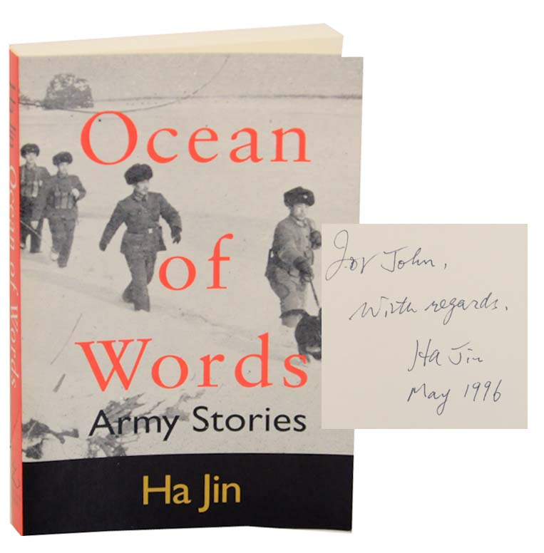 Ocean of Words: Army Stories (Signed First Edition). Ha JIN.