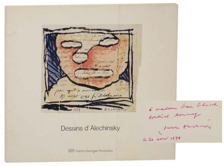 Les Dessins d'Alechinsky au Musee National d'art moderne (Signed First Edition). Pierre ALECHINSKY.