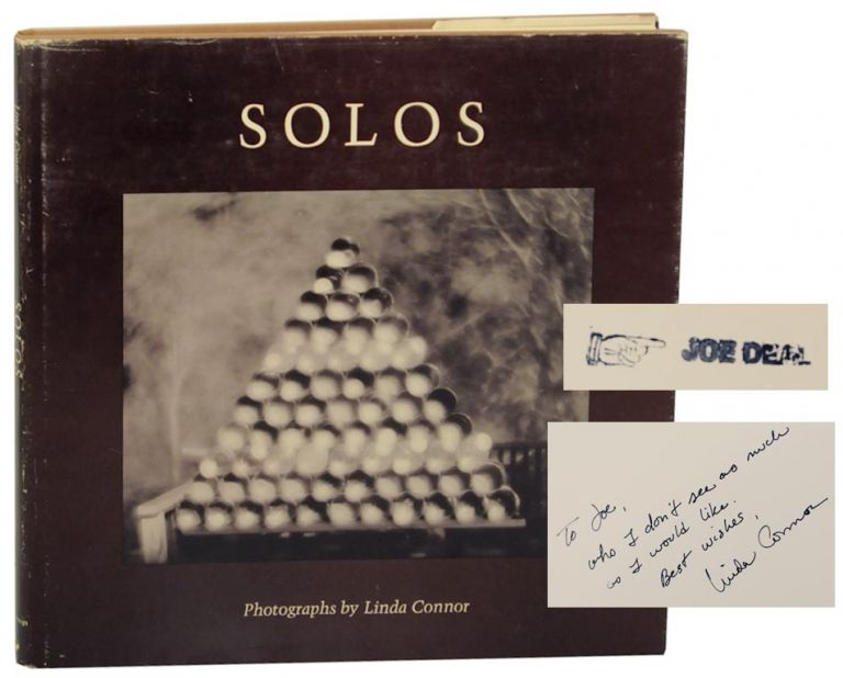 Solos (Signed First Edition). Linda CONNOR.