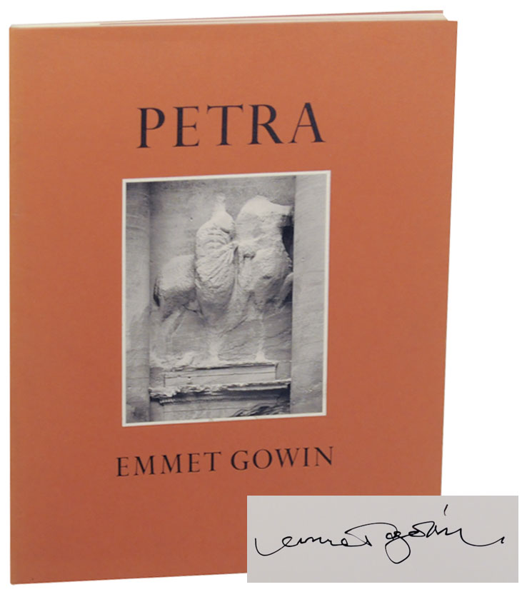 Petra. In The Hashemite Kingdom of Jordan (Signed First Edition). Emmet GOWIN, Phillip C. Hammond.