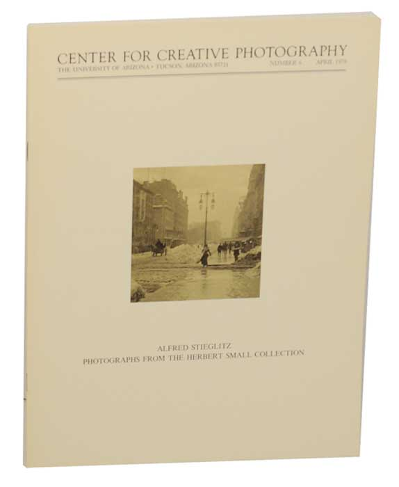 Alfred Stieglitz: Photographs From The Herbert Small Collection. Alfred STIEGLITZ, Peter C. Bunnell.