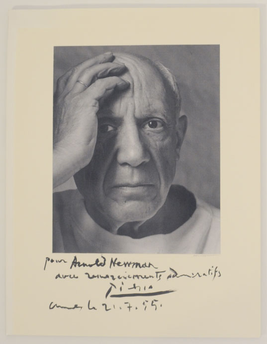 Sitters and Signatures: Autographed Portraits by Arnold Newman. Arnold NEWMAN.