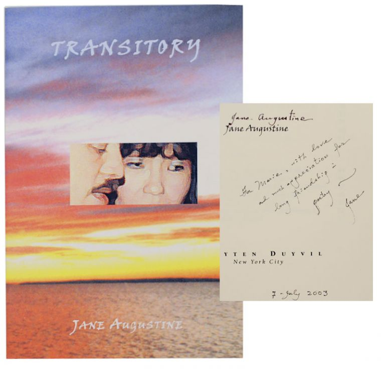 Transitory: A Poem Sequence (Signed First Edition). Jane AUGUSTINE.