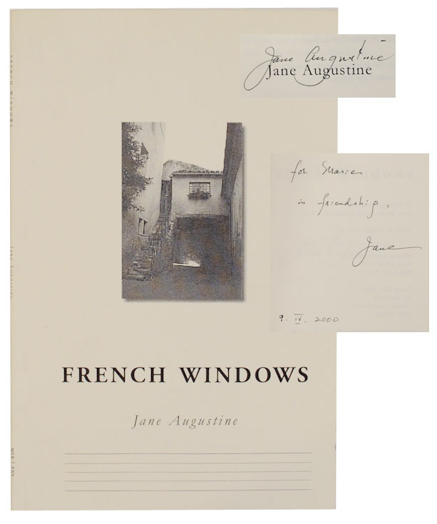 French Windows (Signed First Edition). Jane AUGUSTINE.