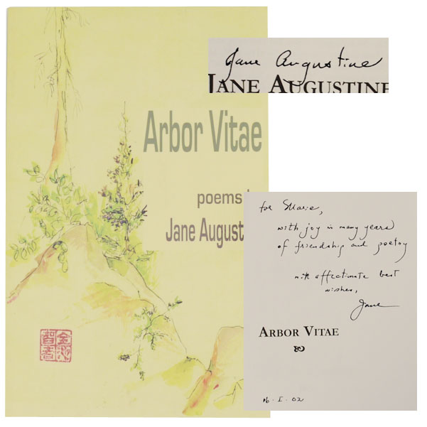 Arbor Vitae (Signed First Edition). Jane AUGUSTINE.