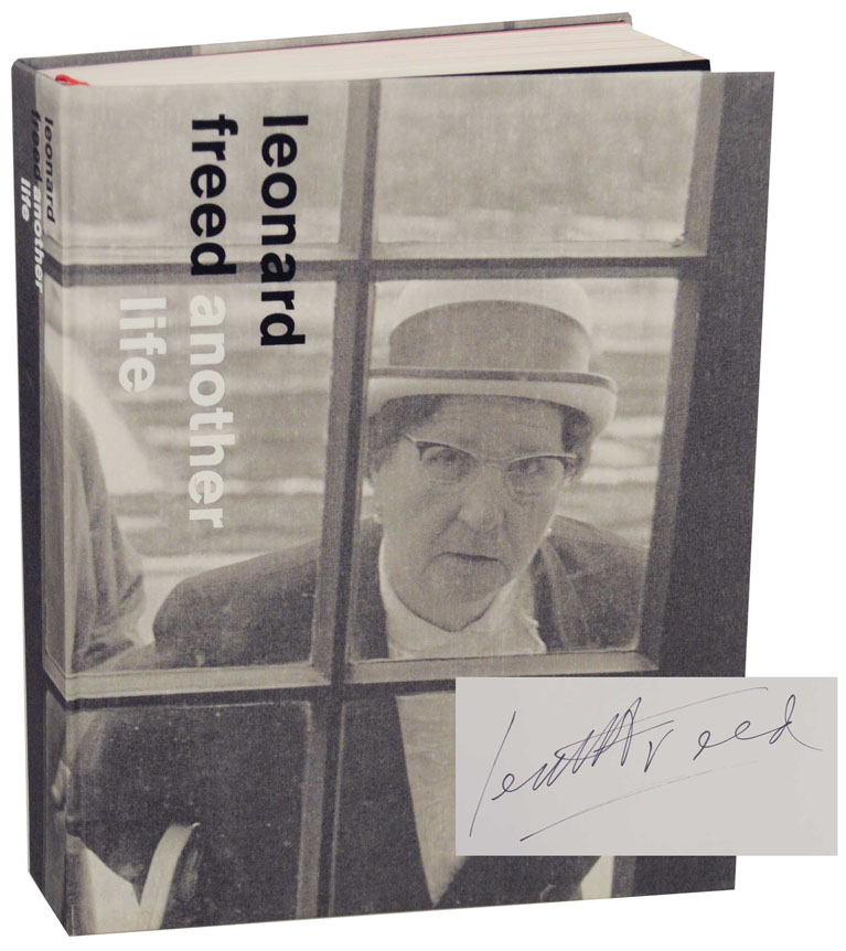 Another Life (Signed First Edition). Leonard FREED, Marcel Vleugels.