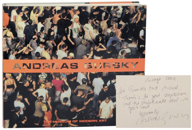 Andreas Gursky (Signed First Edition). Andreas GURSKY, Peter Galassi.