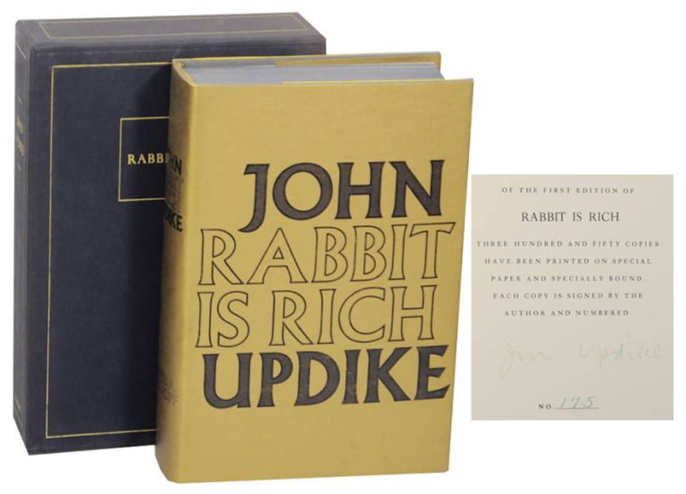Rabbit is Rich (Signed Limited Edition). John UPDIKE.