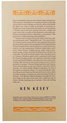 from Sailor Song. Ken KESEY