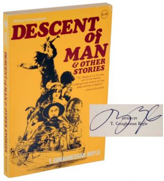 Descent of Man & tother Stories (Signed First Edition). T. C. BOYLE