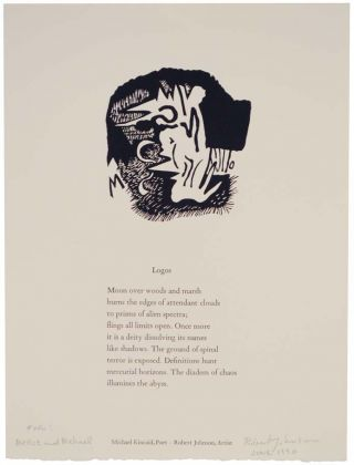 Logos (Signed Broadside). Michael KINCAID, Robert Johnson