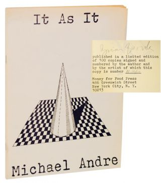 It As It (Signed Limited Edition). Michael ANDRE
