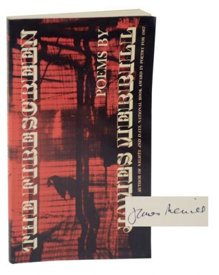 The Fire Screen (Signed First Edition). James MERRILL